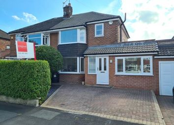 Thumbnail 3 bed semi-detached house for sale in Nursery Road, Cheadle Hulme, Cheshire