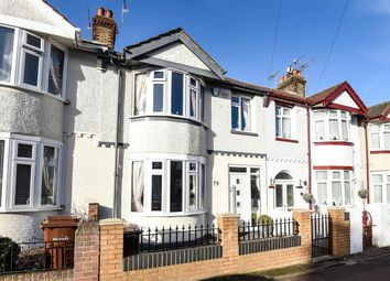 Thumbnail 3 bed terraced house for sale in Alexandra Avenue, Gillingham