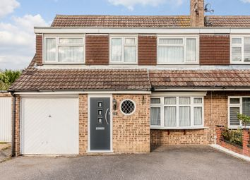 Thumbnail 4 bed semi-detached house for sale in Braziers Close, Galleywood, Chelmsford