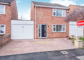 Thumbnail 2 bed link-detached house for sale in York Close, Glen Parva, Leicester