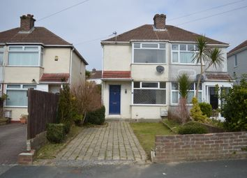 Thumbnail 2 bed semi-detached house to rent in Fletemoor Road, Plymouth