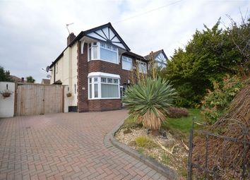 Thumbnail 3 bed semi-detached house for sale in Kings Road, Higher Bebington, Merseyside