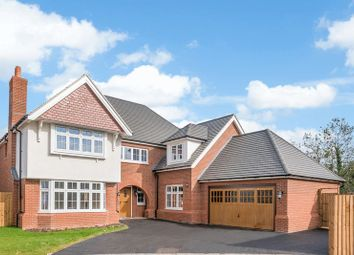 Thumbnail 5 bed detached house for sale in Lodge Park Drive, Evesham