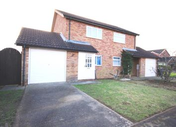 Thumbnail 2 bedroom semi-detached house to rent in Southfields, Sleaford, Lincolnshire