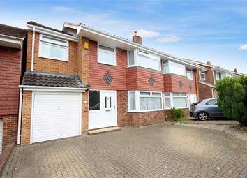 Thumbnail 4 bed semi-detached house for sale in Buckingham Road, Lawn, Swindon