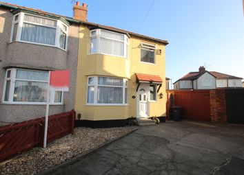Thumbnail 3 bed semi-detached house for sale in Kinley Gardens, Bootle