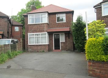 Thumbnail 3 bed detached house to rent in Ellaston Drive, Urmston, Manchester