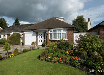 Thumbnail 3 bedroom detached bungalow for sale in 17 Alderdale Drive, High Lane, Stockport, Cheshire