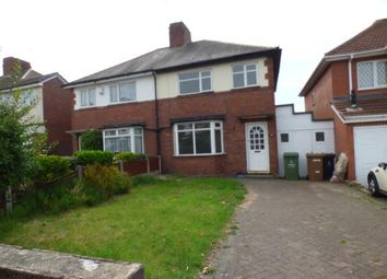 Thumbnail 3 bed semi-detached house for sale in Leighswood Avenue, Aldridge, Walsall, West Midlands