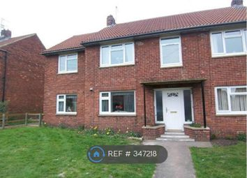 Thumbnail 1 bed flat to rent in Brackenfield Road, Durham