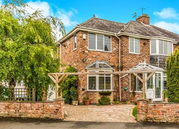 Thumbnail 4 bed semi-detached house for sale in Westward Road, Wilmslow