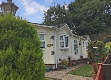 Thumbnail 2 bed mobile/park home for sale in East Hill Park, Knatts Valley, Sevenoaks, Kent