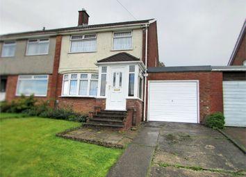 Thumbnail 3 bedroom semi-detached house for sale in Castle Drive, Cimla, Neath, West Glamorgan