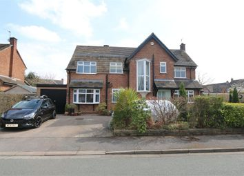 Thumbnail 4 bed detached house for sale in Fairbourne Drive, Wilmslow, Cheshire