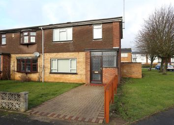 Thumbnail 3 bed end terrace house for sale in Masefield Close, Wellingborough