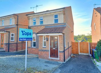 Thumbnail 3 bed detached house for sale in Swalebank Close, Chesterfield