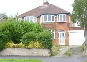 Thumbnail 3 bed semi-detached house to rent in Tennal Lane, Harborne, Birmingham, West Midlands