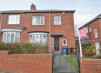 Thumbnail 3 bed semi-detached house for sale in Bruce Gardens, Fenham, Newcastle Upon Tyne