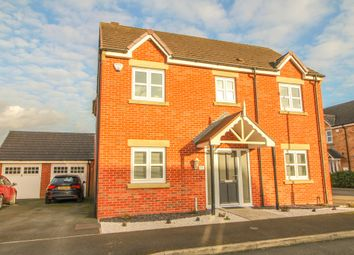 Thumbnail 4 bed detached house for sale in Greenside View, Smalley, Ilkeston