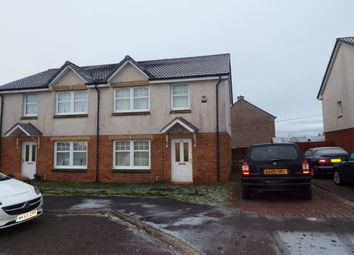 Thumbnail 3 bed semi-detached house to rent in Kateswell Drive, Salsburgh, Shotts