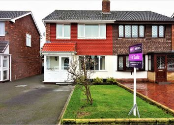 Thumbnail 3 bed semi-detached house for sale in Andrew Road, West Bromwich