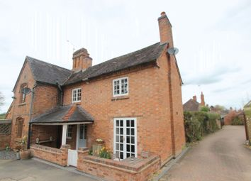 Thumbnail 2 bed cottage for sale in The Green, Snitterfield, Stratford-Upon-Avon