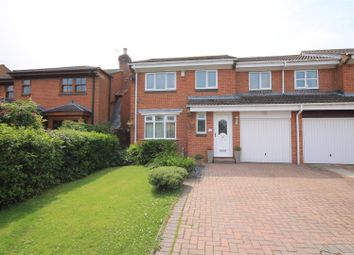 Thumbnail 4 bed semi-detached house for sale in Beckett Close, Etherley Dene, Bishop Auckland