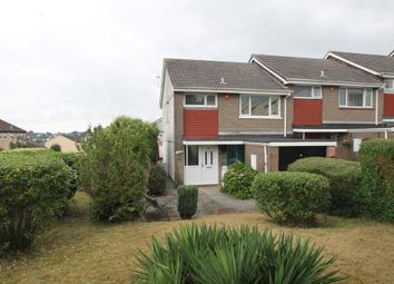 Thumbnail 3 bedroom end terrace house for sale in Dartmeet Avenue, Plymouth