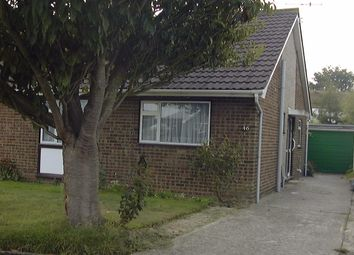 Thumbnail 2 bedroom bungalow to rent in Glynde Crescent, Felpham, Bognor Regis