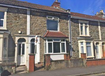 Thumbnail 2 bedroom terraced house for sale in Worsley Street, Redfield, Bristol