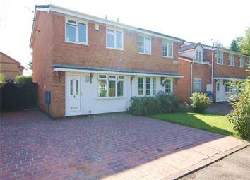 Thumbnail 2 bed semi-detached house for sale in St. Bridgets Close, Fearnhead, Warrington