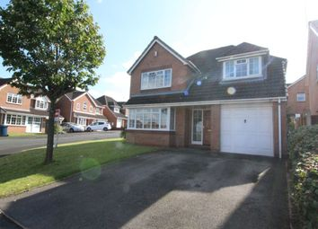 Thumbnail 4 bed detached house for sale in Lara Close, Stafford