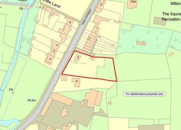 Thumbnail Land for sale in High Street, Milton, Abingdon