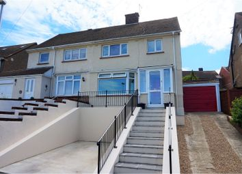 Thumbnail 3 bed semi-detached house for sale in Cunningham Crescent, Chatham