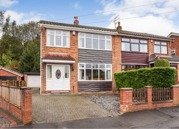 Thumbnail 3 bed semi-detached house for sale in Sussex Close, Standish, Wigan