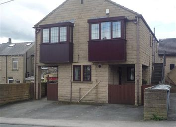 Thumbnail 1 bed flat for sale in Quarmby Road, Quarmby, Huddersfield