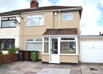 Thumbnail 3 bed semi-detached house to rent in Stanley Road, Maghull, Liverpool