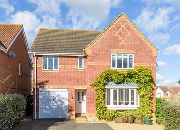 Thumbnail 4 bed detached house for sale in Ferriman Road, Spaldwick, Huntingdon