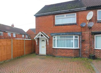 Thumbnail 2 bed semi-detached house for sale in New Street, Measham, Derbyshire