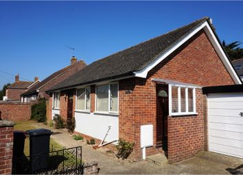 Thumbnail 3 bed detached bungalow for sale in 2 The Drive, Southbourne