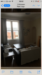 Thumbnail 2 bed flat to rent in Main Street, Ayr