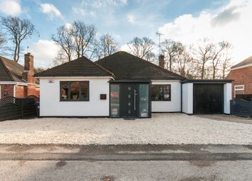 Thumbnail 3 bed detached bungalow for sale in Hickton Road, Swanwick, Alfreton