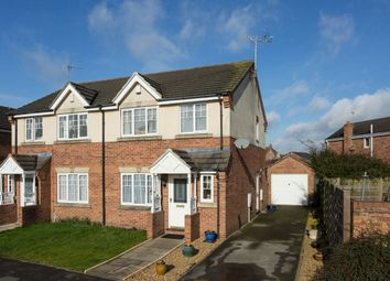 Thumbnail 3 bed semi-detached house for sale in Minchin Close, Clifton, York