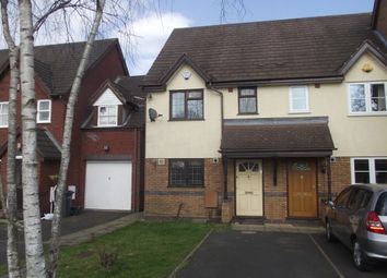 Thumbnail 2 bedroom semi-detached house to rent in Kerswell Drive, Shirley, Solihull