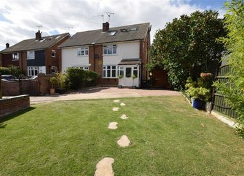 Thumbnail 4 bed semi-detached house for sale in South Hill Crescent, Horndon-On-The-Hill, Essex