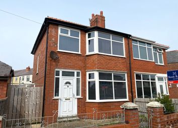 Thumbnail 3 bed semi-detached house to rent in Arnott Road, Blackpool