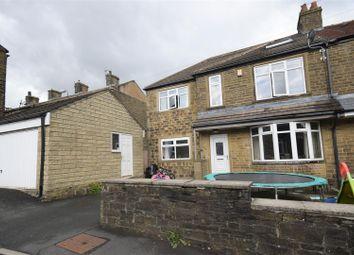 Thumbnail 4 bed semi-detached house for sale in Hazeldene, Queensbury, Bradford
