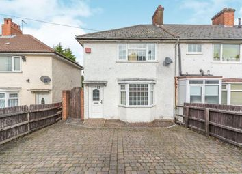 Thumbnail 3 bed end terrace house for sale in Cleeve Rd, Yardley Wood, Birmingham, West Midlands