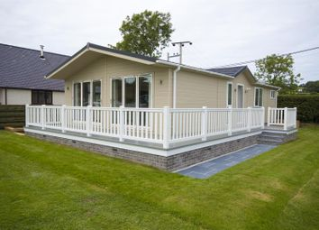 Thumbnail 2 bed mobile/park home for sale in Parc Y Wern, Llangoed, Beaumaris
