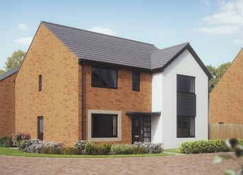 "Thumbnail 5 bed detached house for sale in ""The Marylebone"" at Church Road, Old St. Mellons, Cardiff"